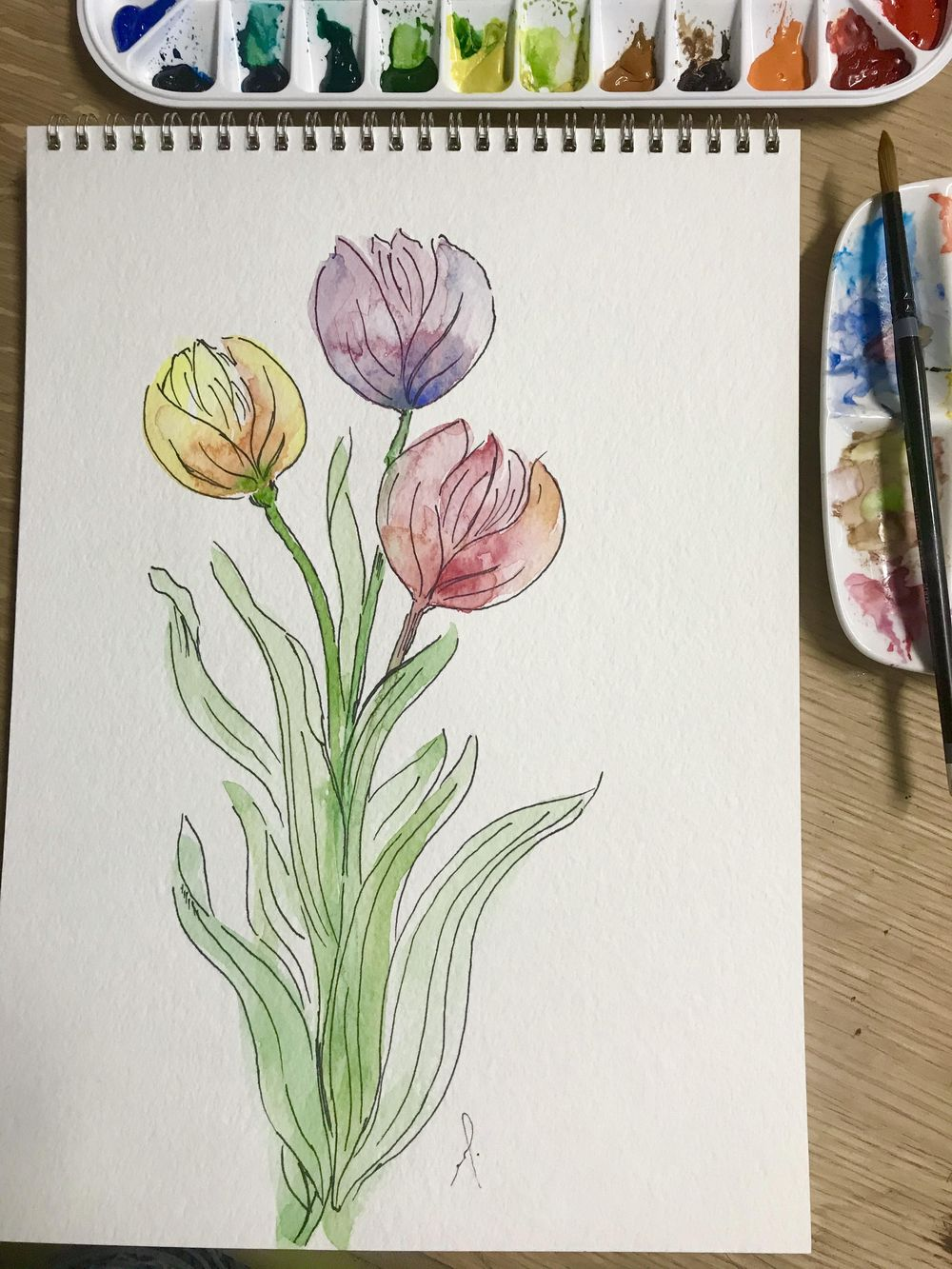 10 fun exercise in watercolor - image 7 - student project