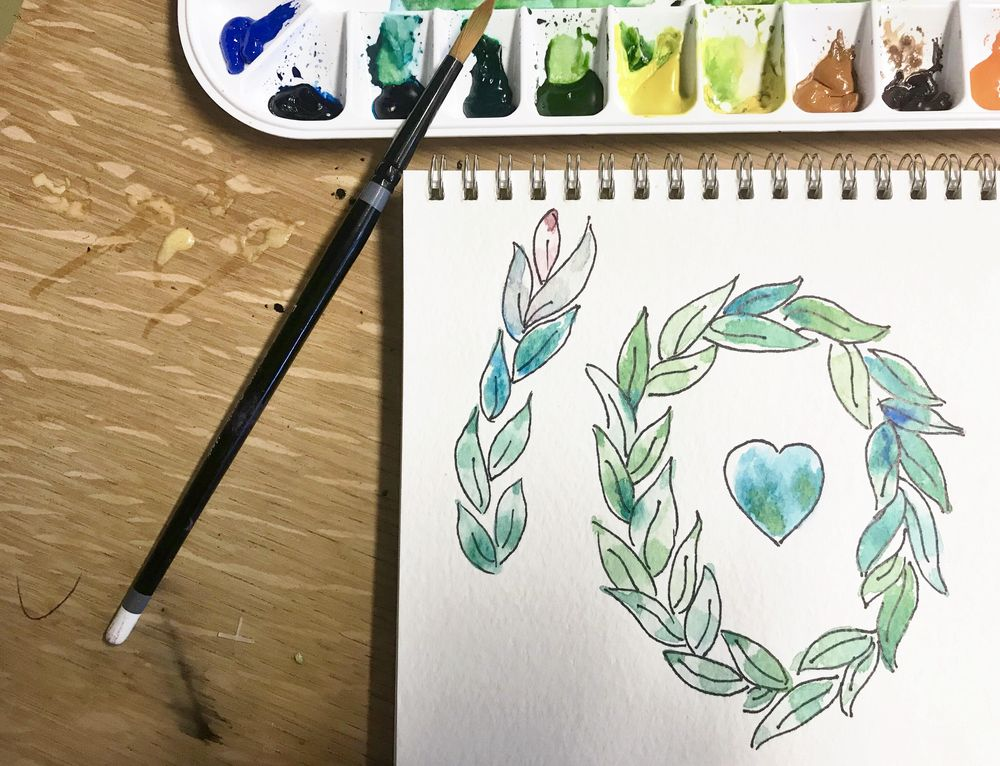 10 fun exercise in watercolor - image 1 - student project