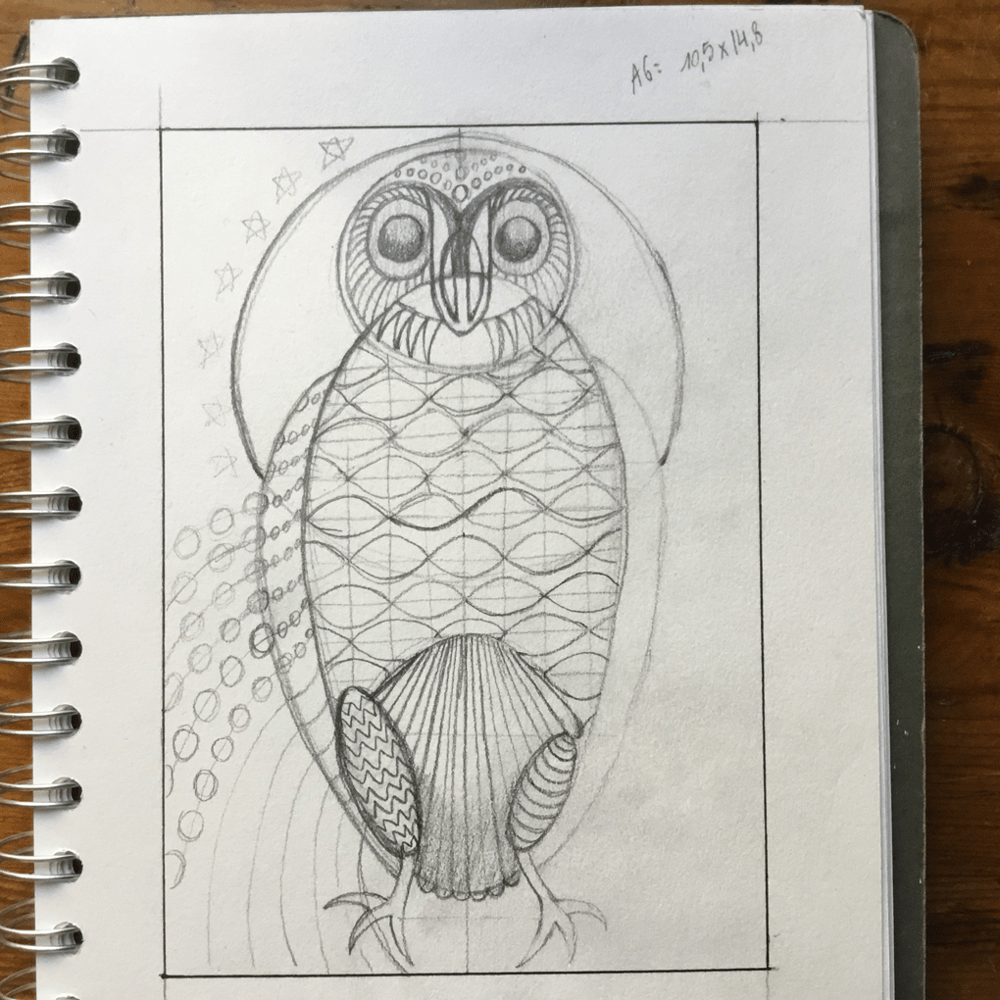 Geometrical Owl - image 1 - student project