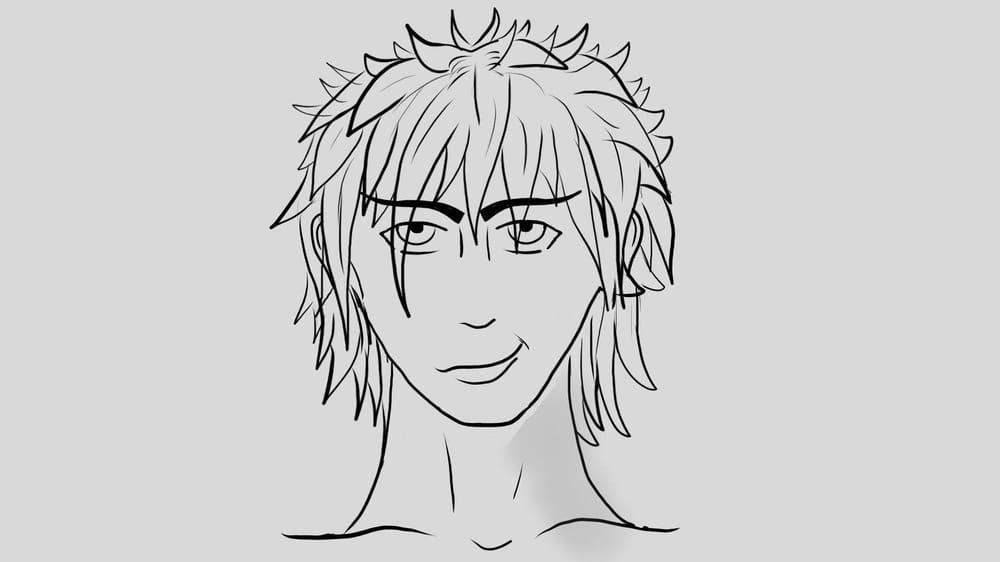 Manga Guy - image 1 - student project