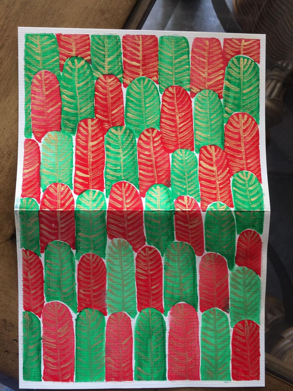 Feather Forest Dec 5 - image 1 - student project