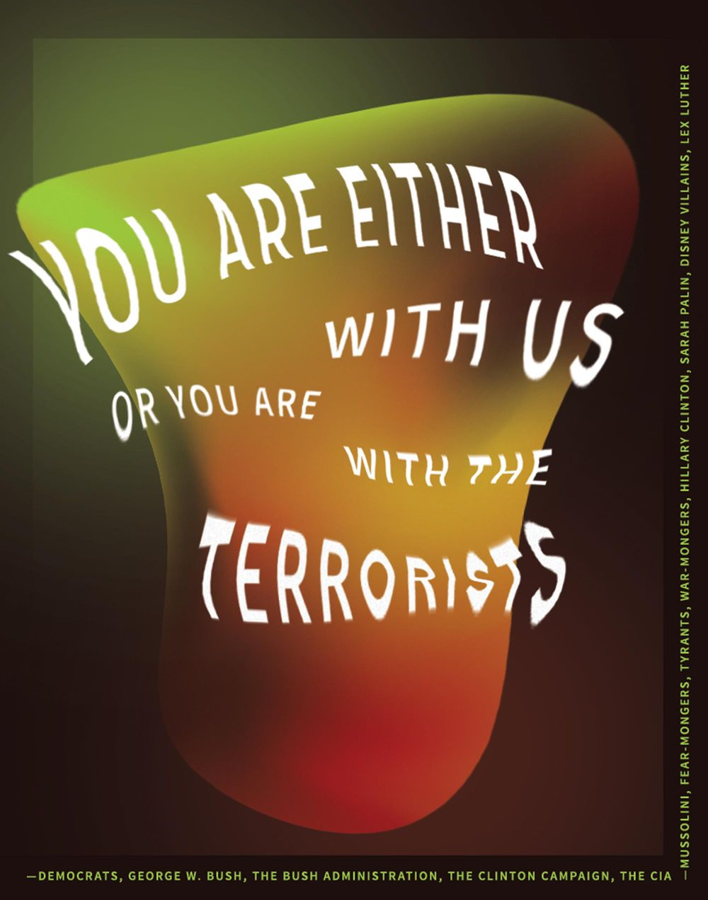 With Us or Against Us - image 1 - student project