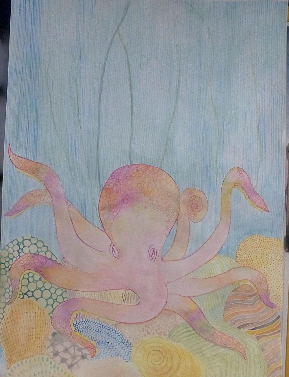 An Octopus - image 1 - student project