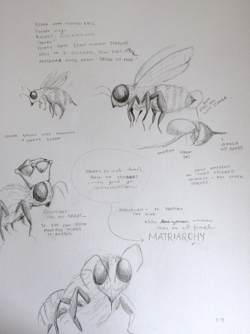 Honey bees only sting once - image 8 - student project
