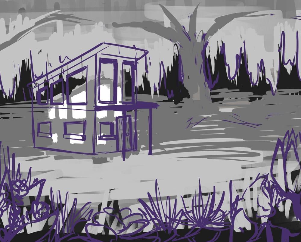 Lush Fantasy, Yet Modern - image 2 - student project