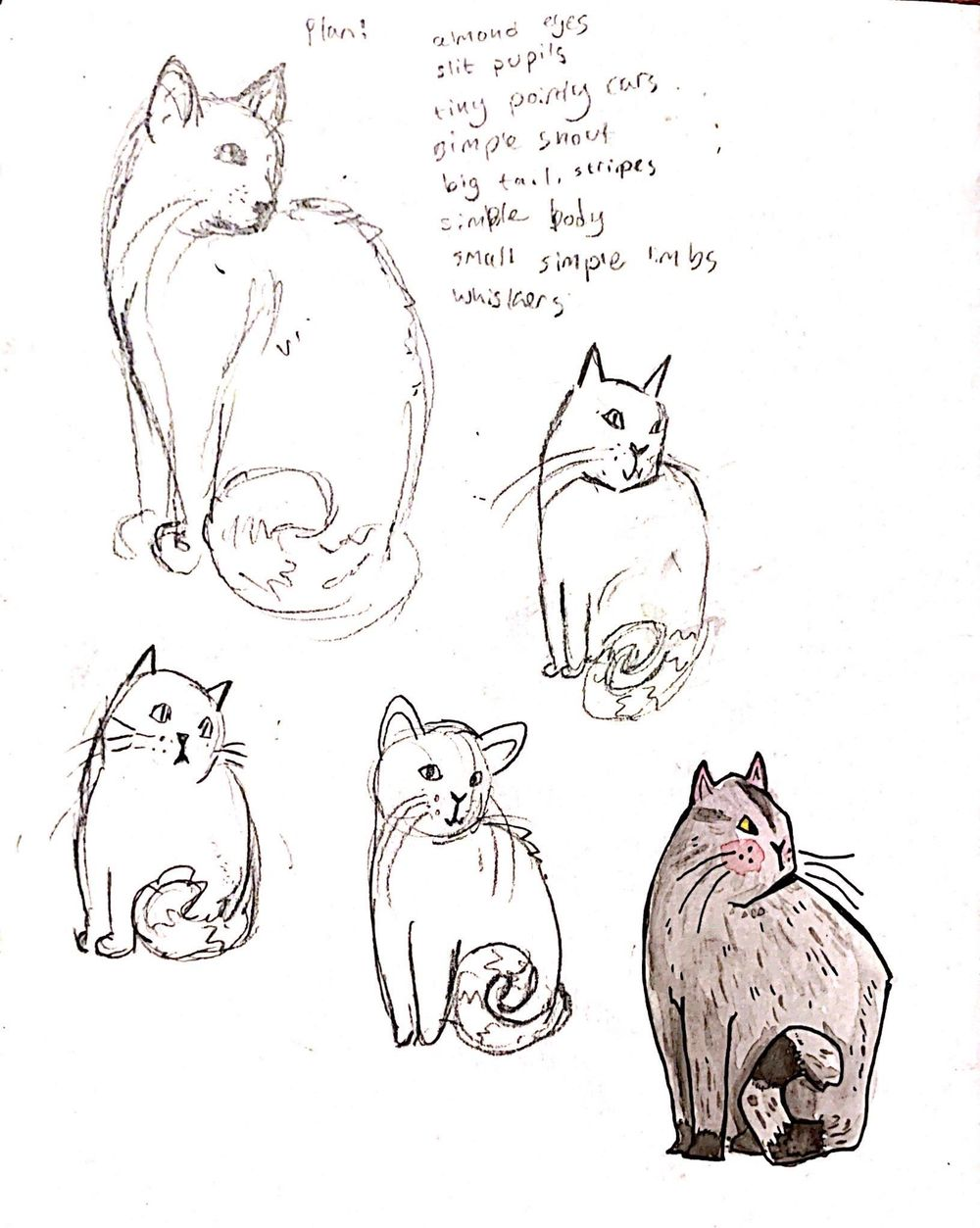Stylized cat - image 1 - student project