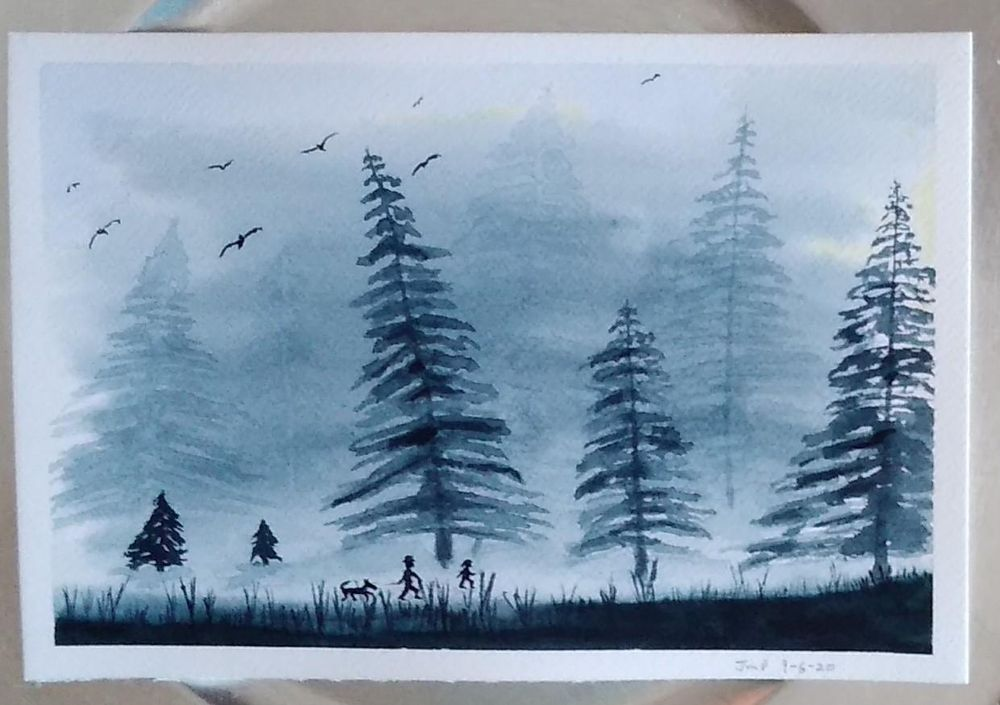 Mysterious Forest - image 1 - student project