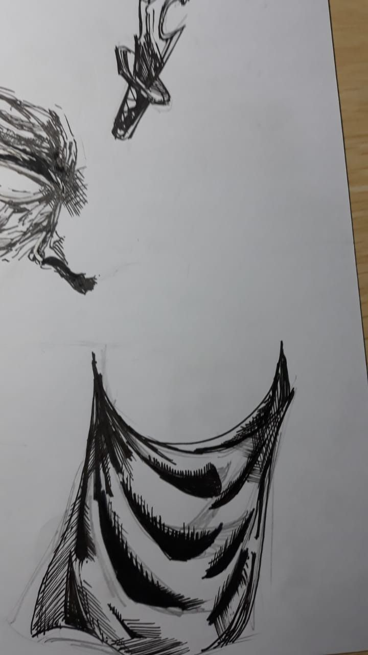 inking and texturing - image 1 - student project