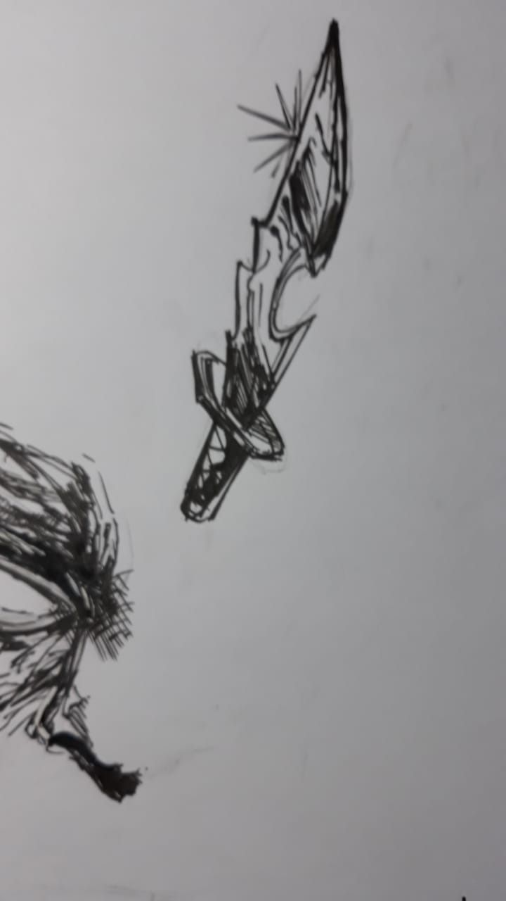 inking and texturing - image 4 - student project