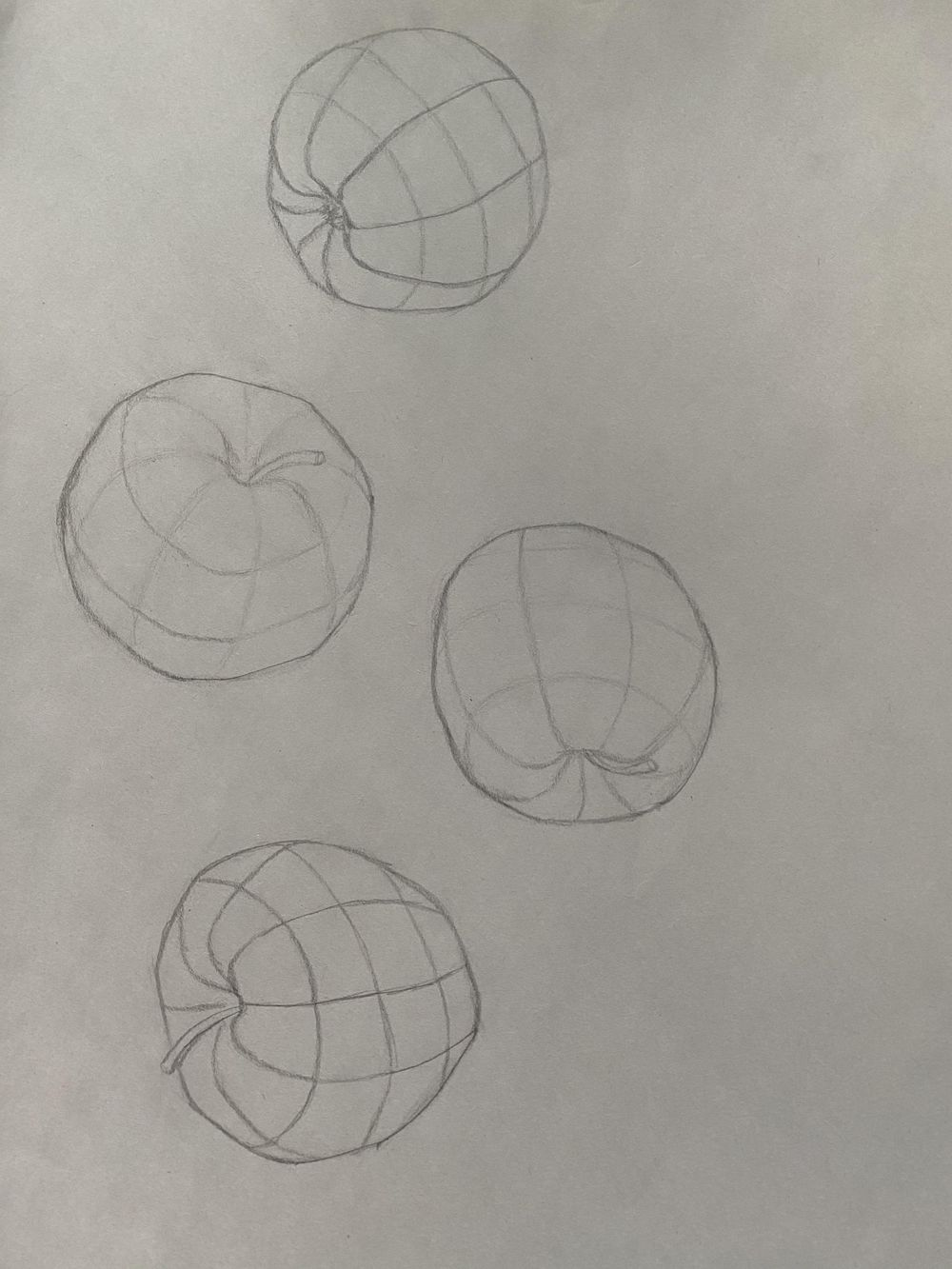 Contours/Drawing with Compelling Contours and Foreshortening - image 2 - student project