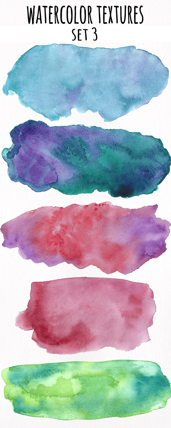 Watercolor Textures Collection - image 3 - student project