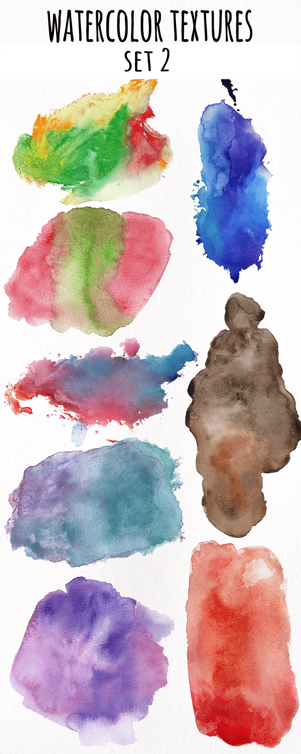 Watercolor Textures Collection - image 2 - student project