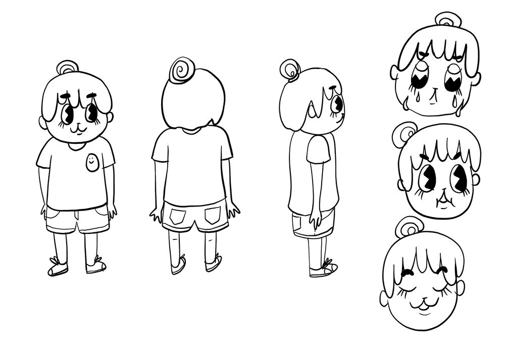 Crybaby's Character Sketch - image 2 - student project