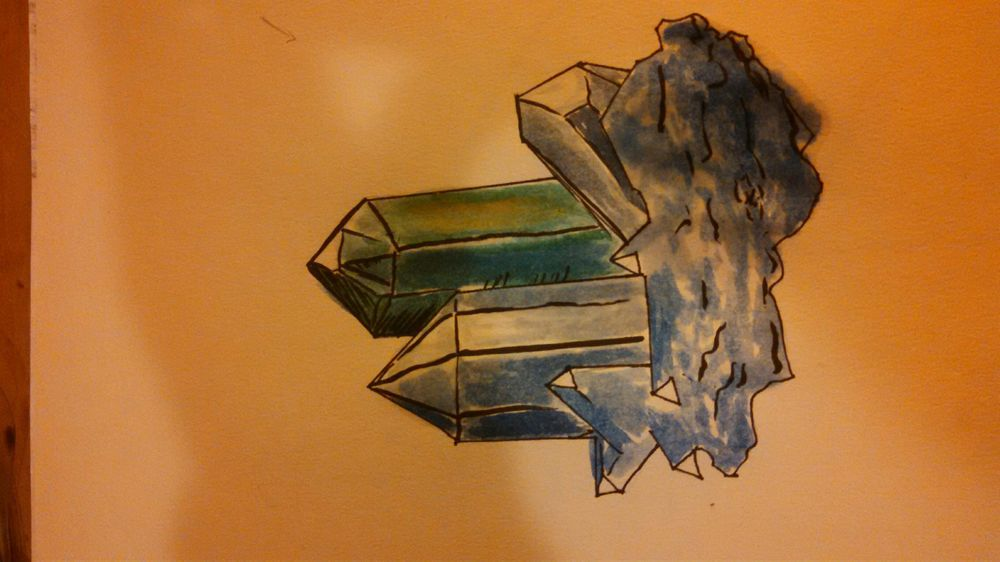 Crystals - image 1 - student project