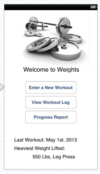Weight Lifting Tracker - image 1 - student project