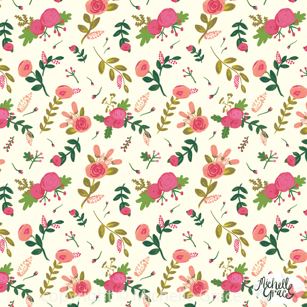 Whimsical Florals by Michelle Grace - image 6 - student project