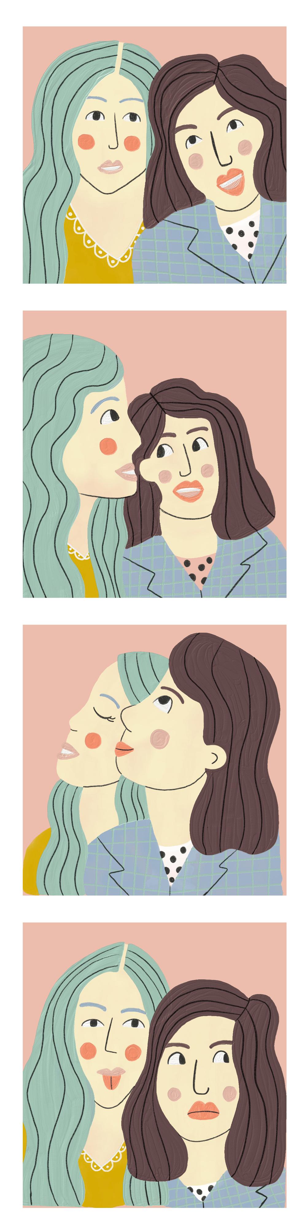 Fresco Portraits - image 1 - student project