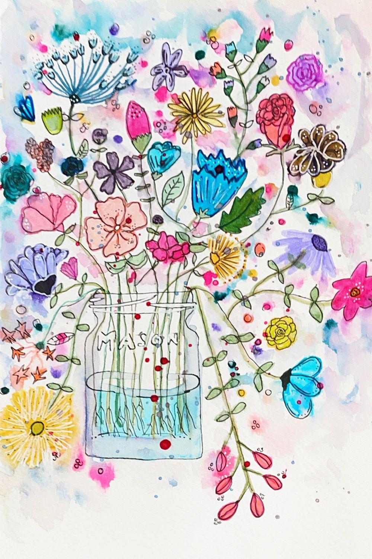 Cactus & Kiwi & Wildflowers - image 1 - student project