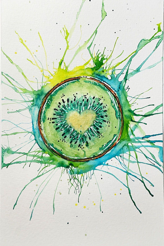 Cactus & Kiwi & Wildflowers - image 3 - student project