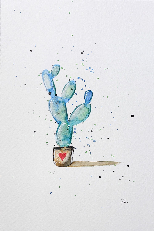 Cactus & Kiwi & Wildflowers - image 2 - student project