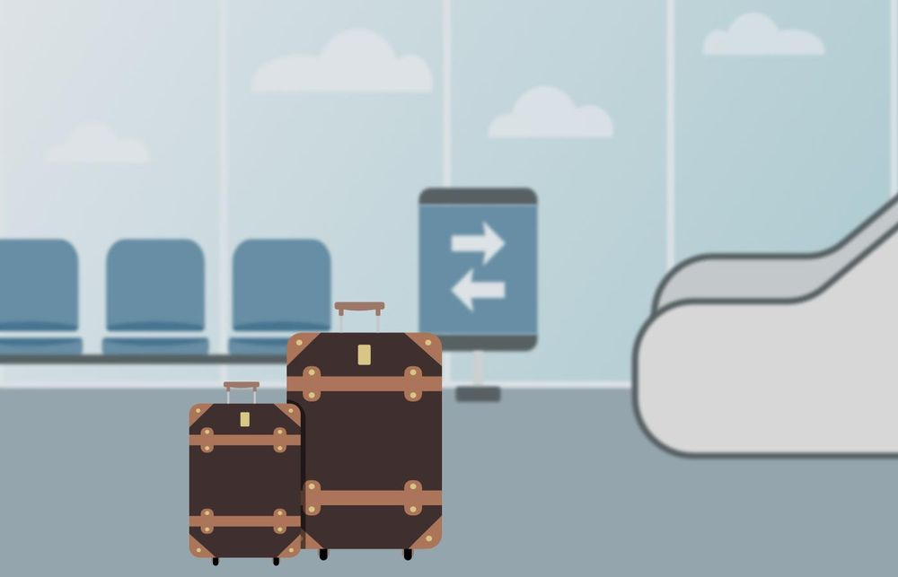 Terminal and luggage - image 1 - student project