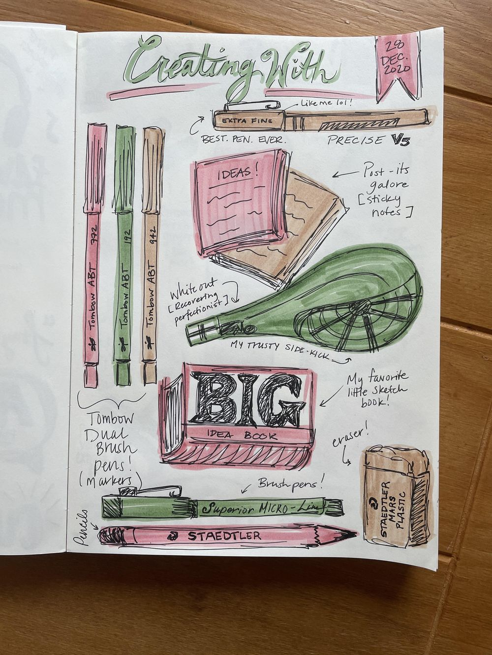 14-Day Illustrative Journaling Prompts - image 6 - student project