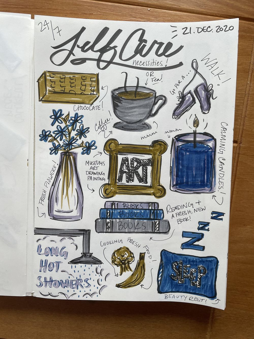14-Day Illustrative Journaling Prompts - image 3 - student project