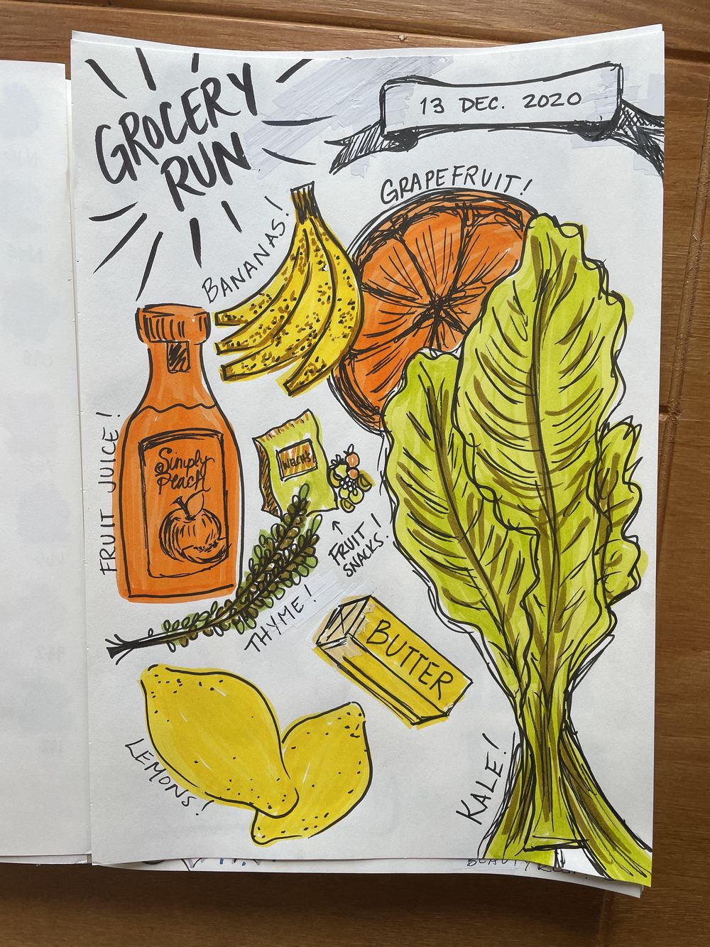 14-Day Illustrative Journaling Prompts - image 1 - student project