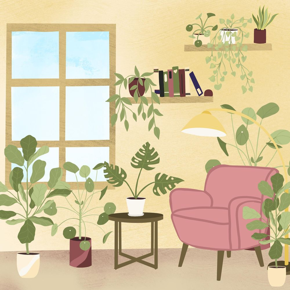Plant Illustration class - image 3 - student project