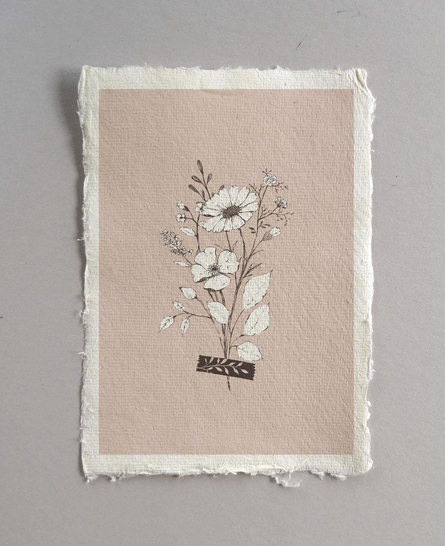 Pencil sketch botanicals - image 8 - student project