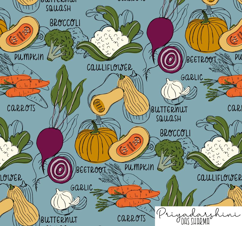 Autumn Veggies - image 1 - student project