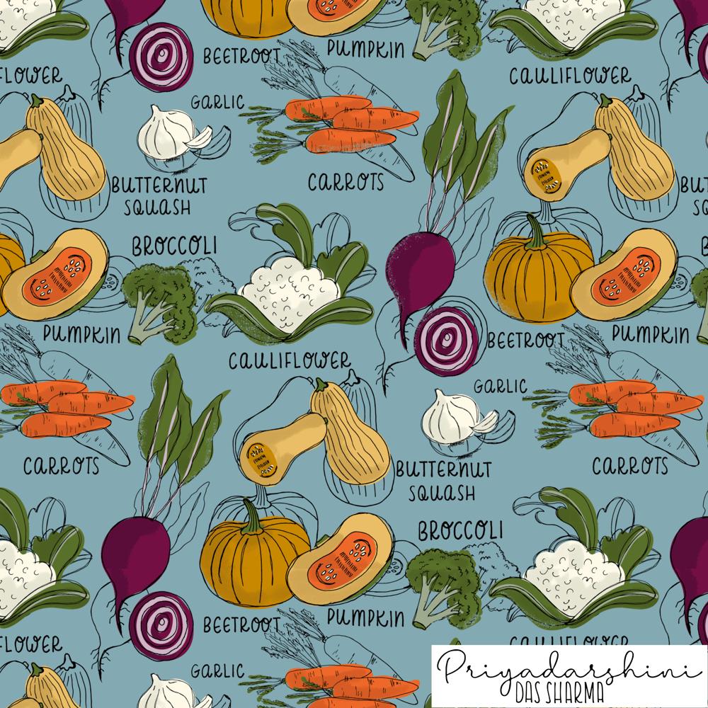 Autumn Veggies - image 2 - student project