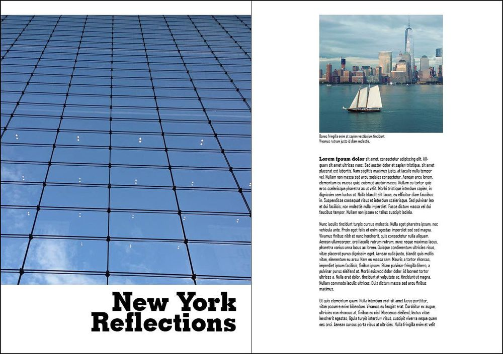 New York Reflections - image 1 - student project