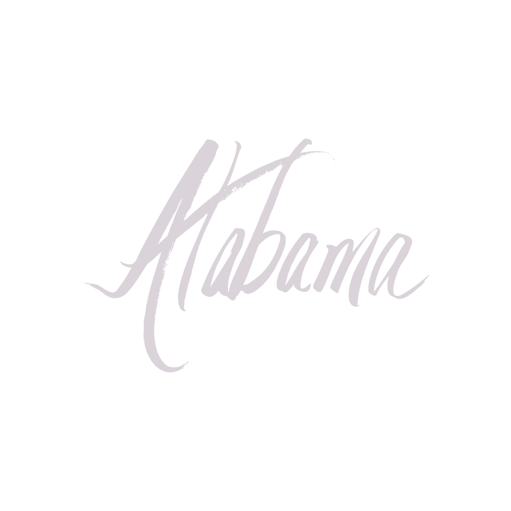 Alabama lettering - image 2 - student project