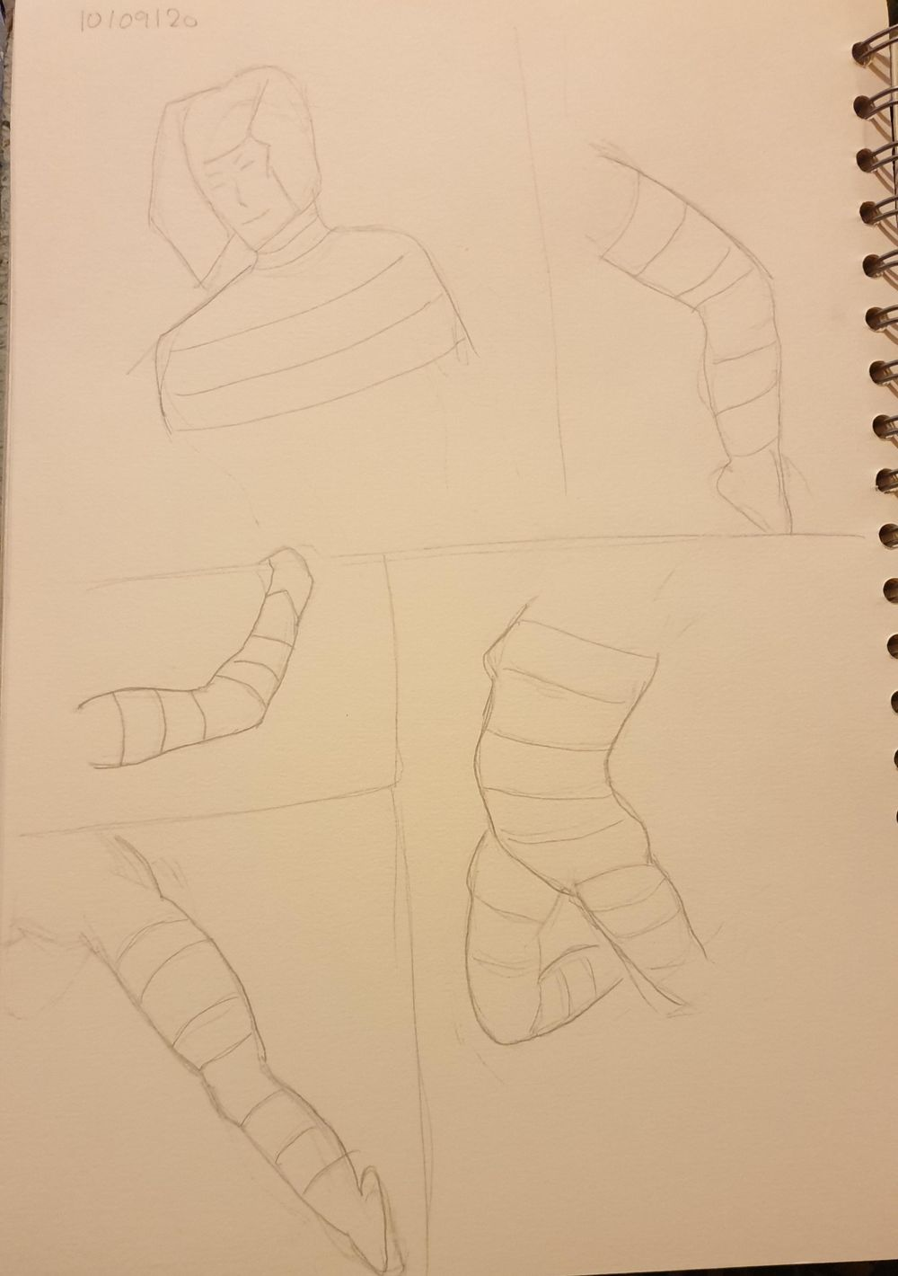 Timed drawing exercise - image 1 - student project