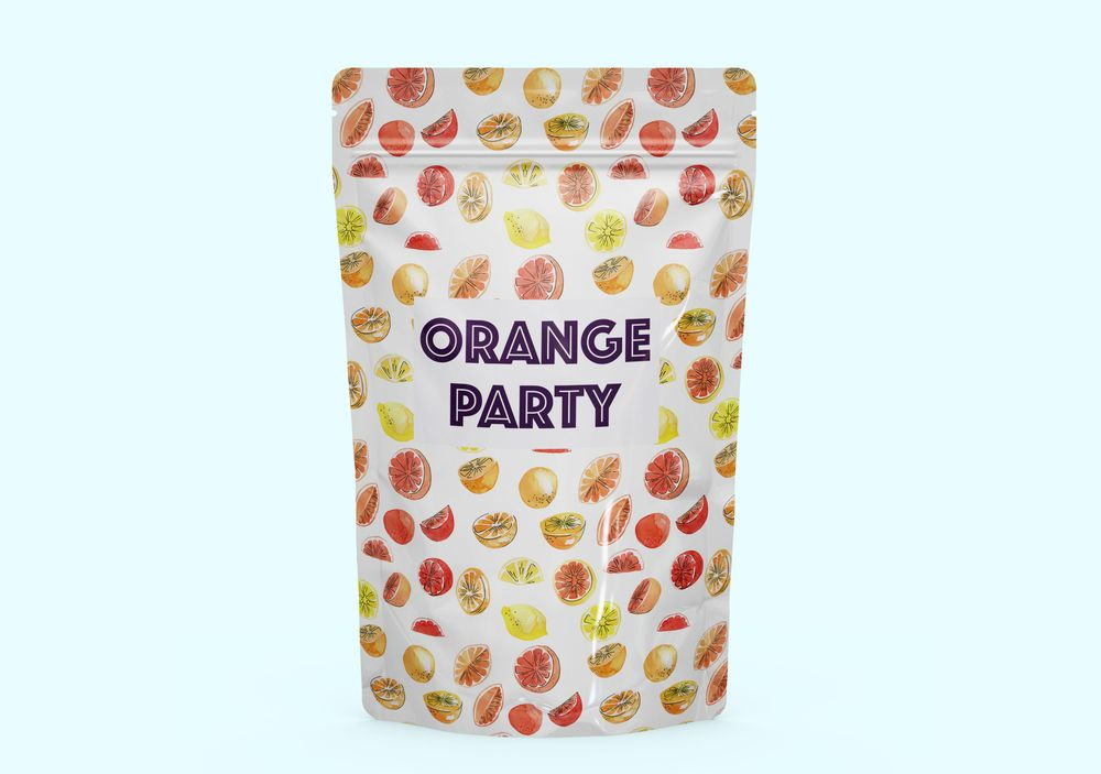 Watercolor fruit pattern - image 2 - student project