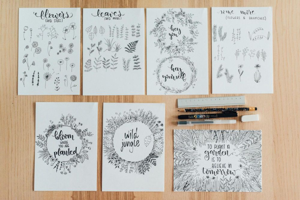 Doodles and prints - image 13 - student project
