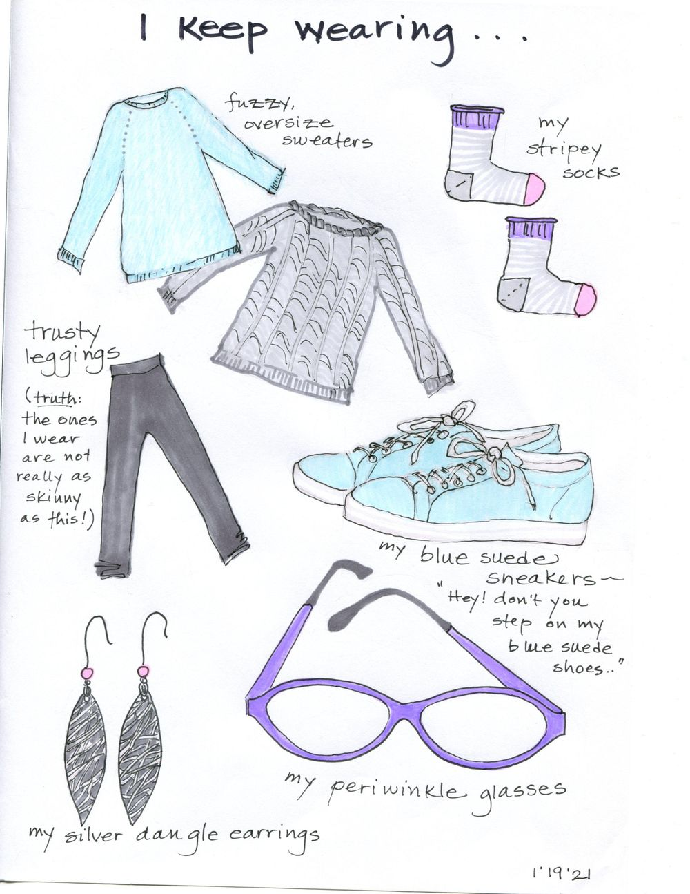 my 14-day illustrated journal - image 9 - student project
