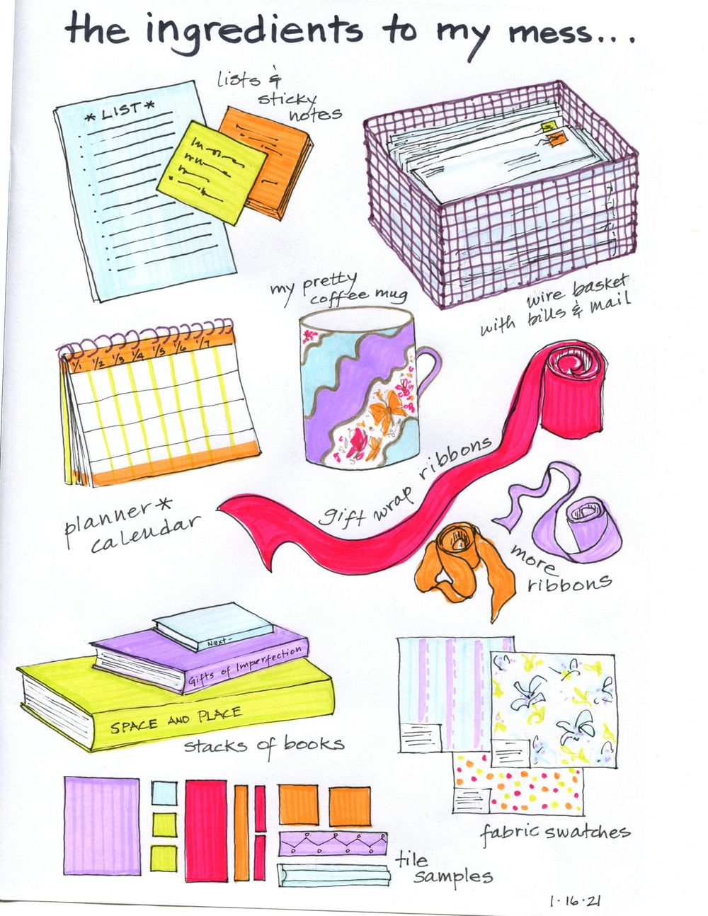 my 14-day illustrated journal - image 6 - student project