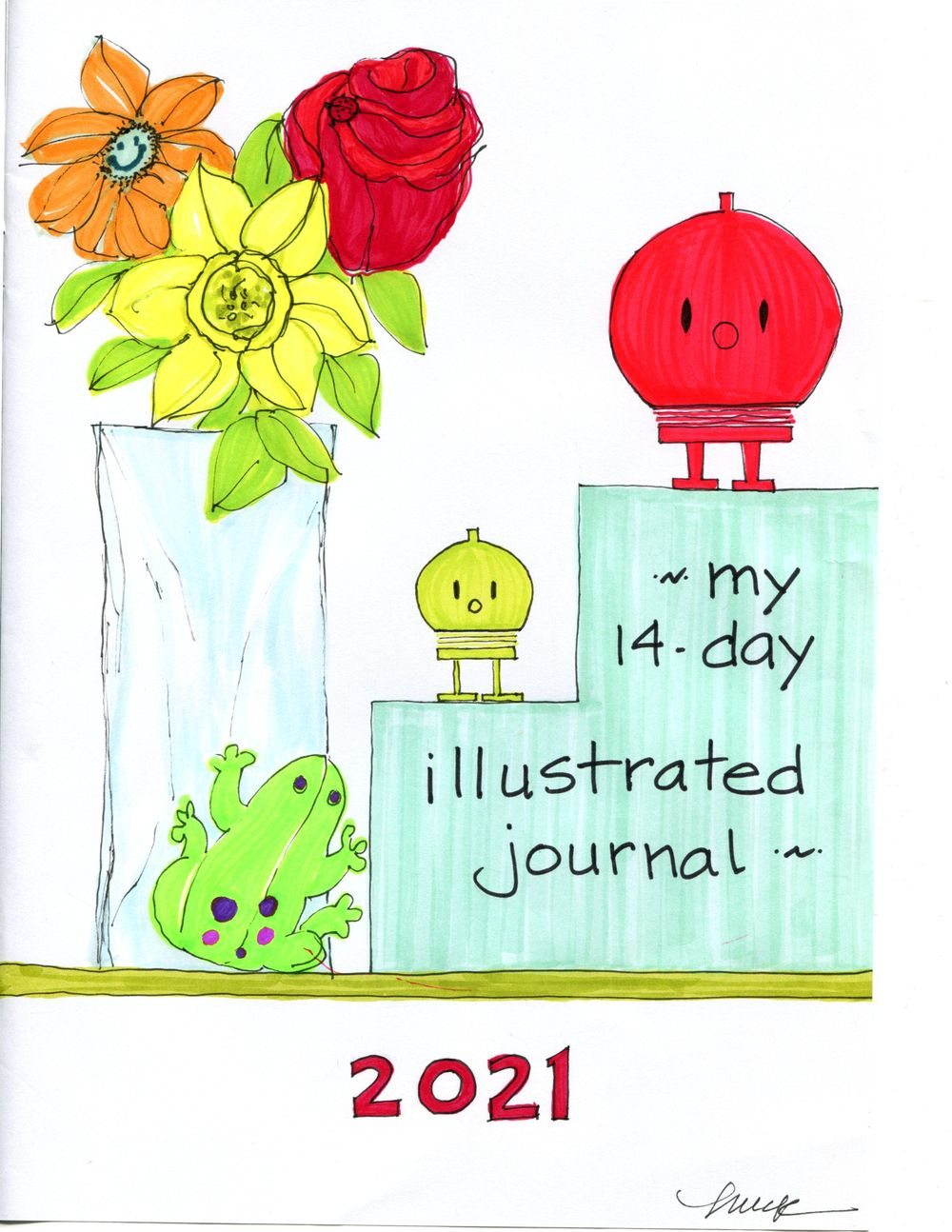 my 14-day illustrated journal - image 1 - student project
