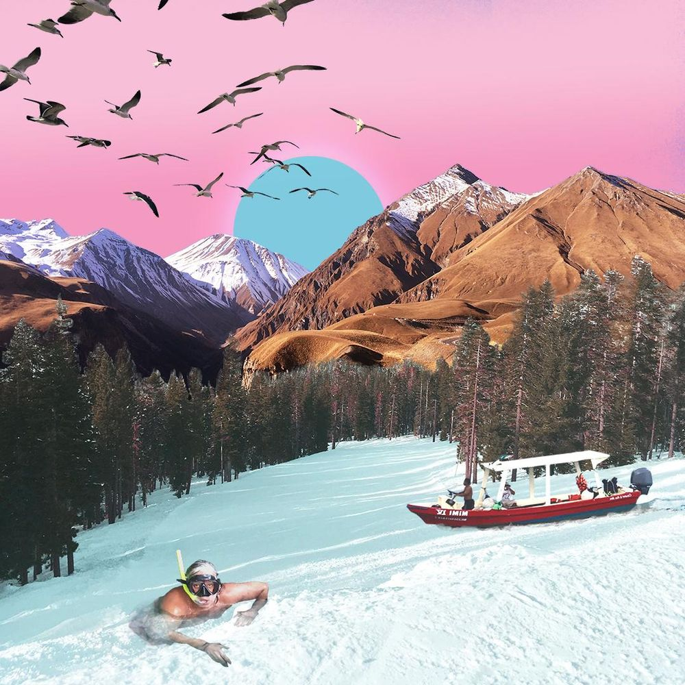 Travel Digital Collages (Instagram project) - image 1 - student project