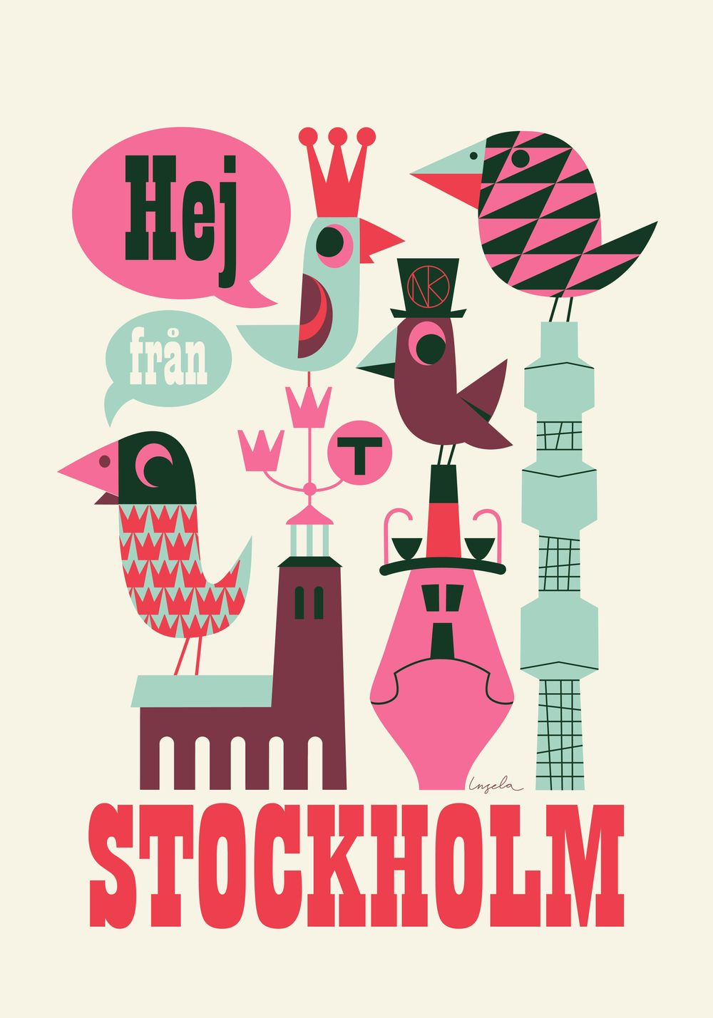 Stockholm poster - image 1 - student project