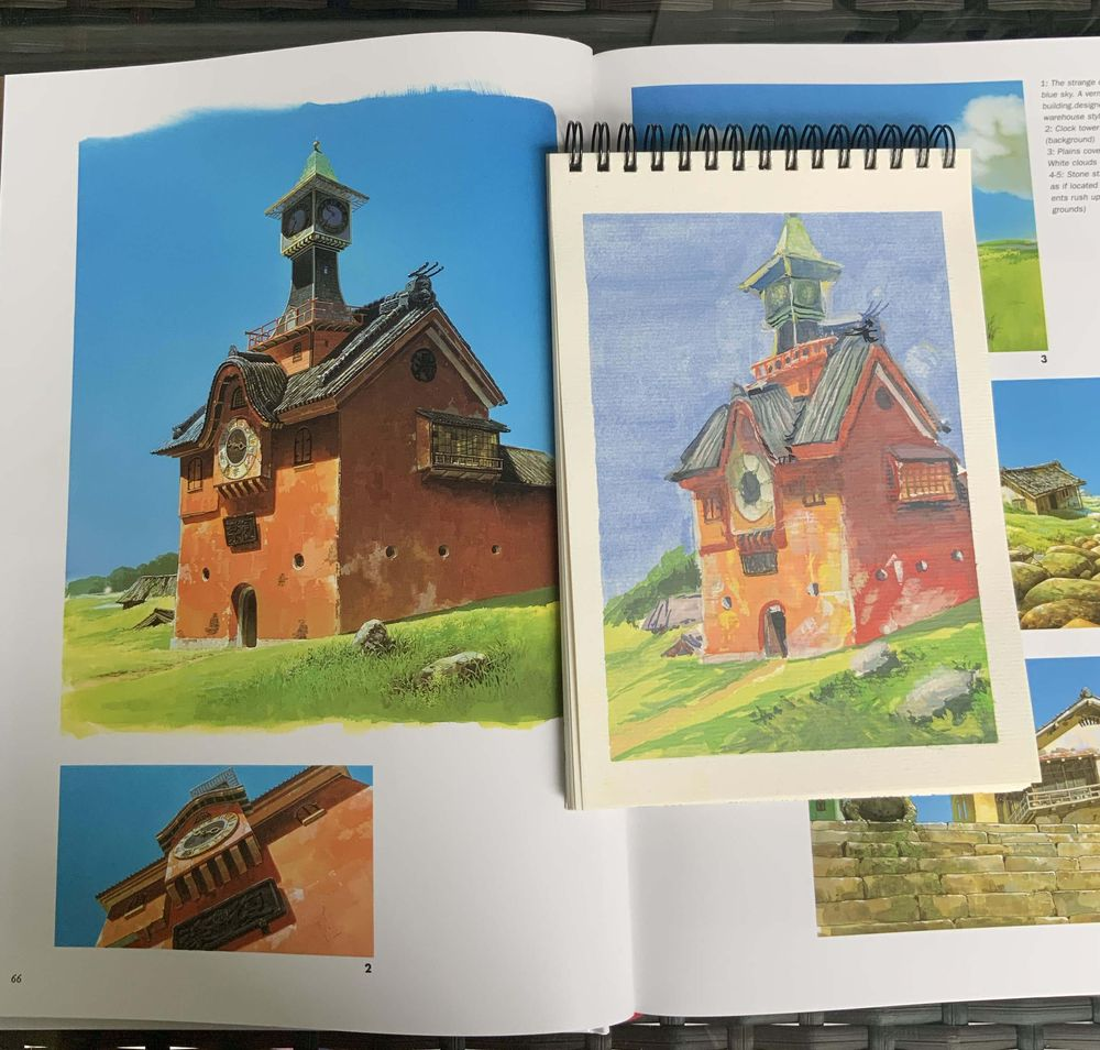 finish 8 sketchbook this year - image 8 - student project