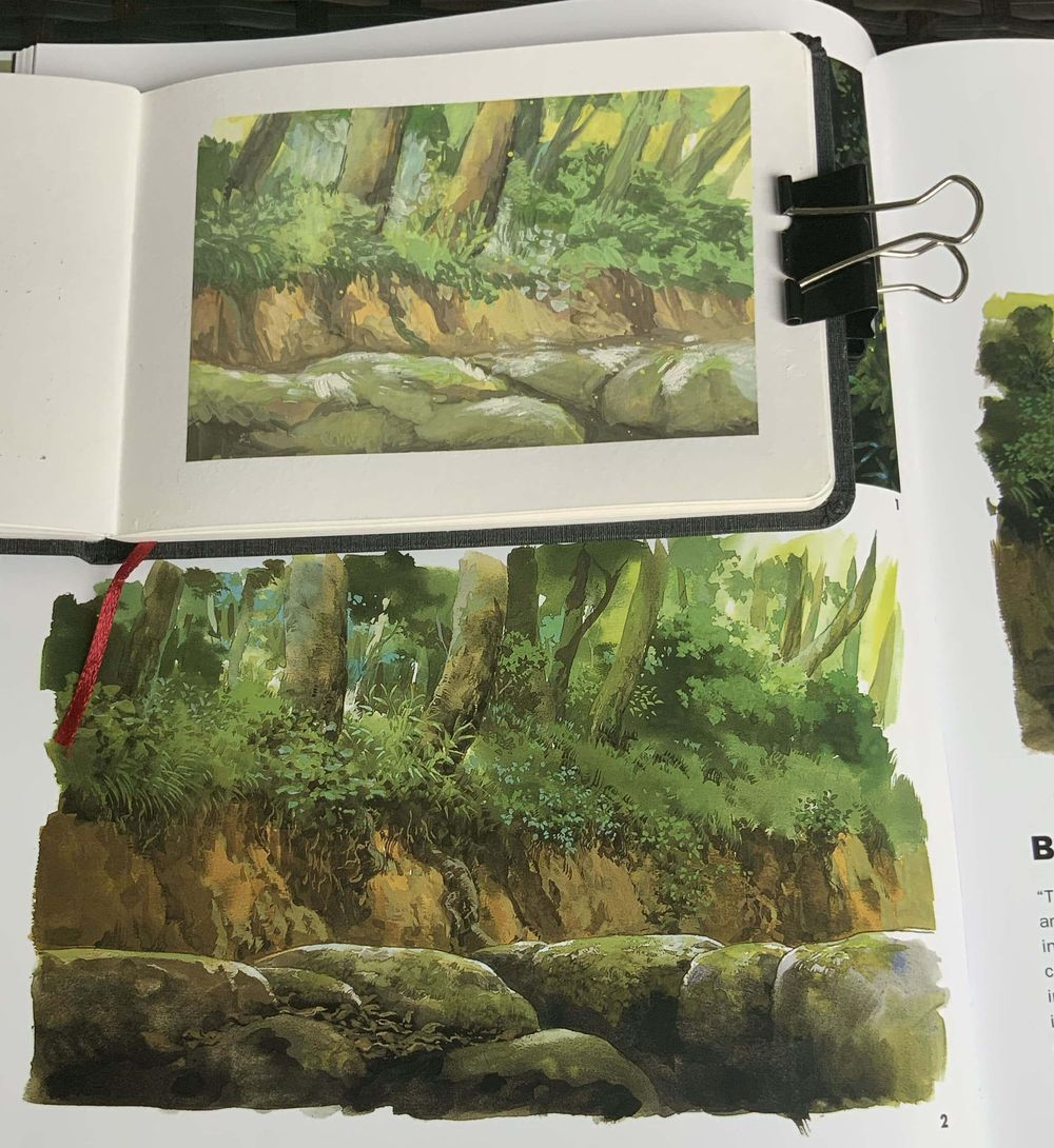 finish 8 sketchbook this year - image 6 - student project