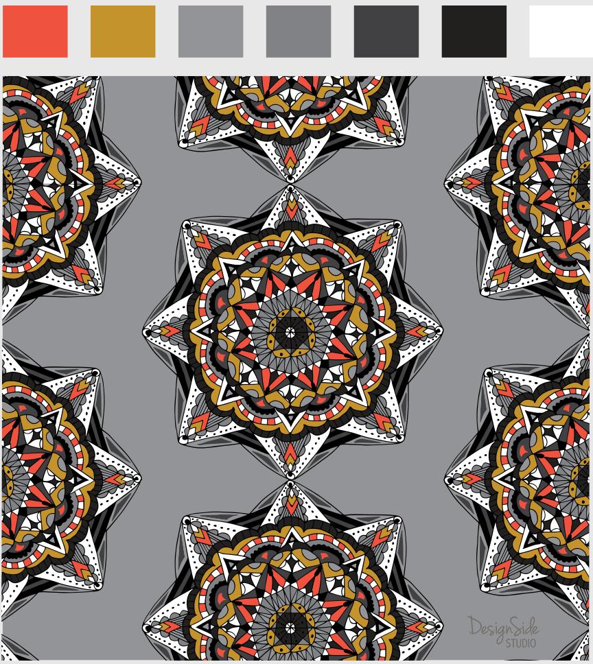 Many Mandalas - image 3 - student project