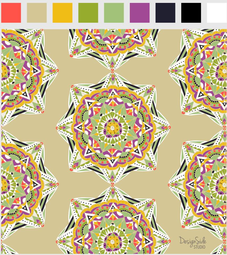 Many Mandalas - image 2 - student project