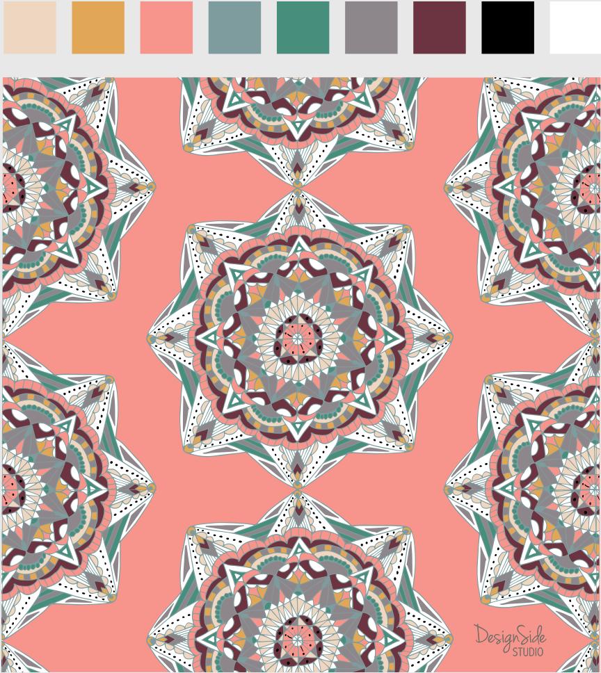 Many Mandalas - image 1 - student project