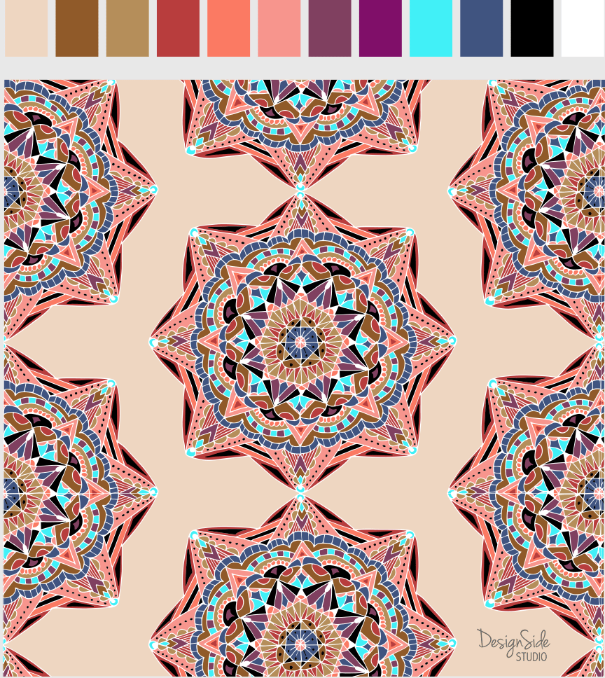 Many Mandalas - image 4 - student project