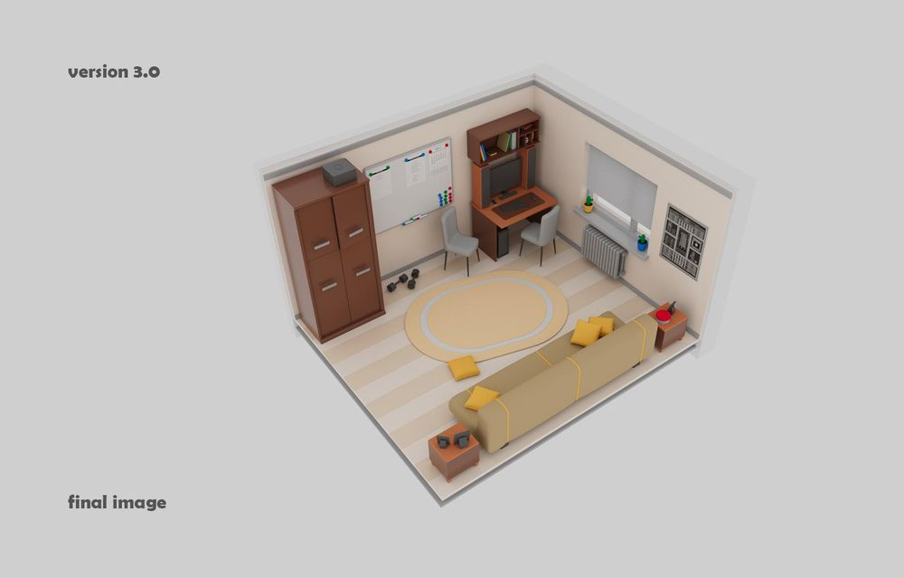 Maya in my Room - image 3 - student project