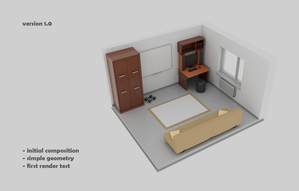 Maya in my Room - image 1 - student project